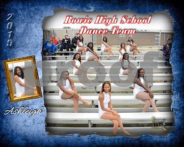 Bowie HS Dance Team Poster_Ashleigh