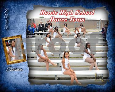 Bowie HS Dance Team Poster_Cierra