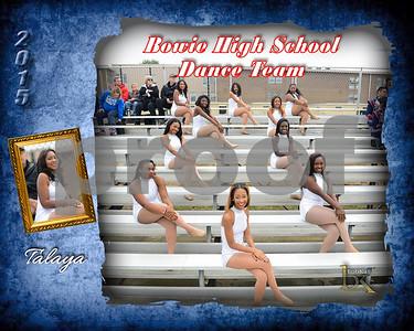 Bowie HS Dance Team Poster_Talaya