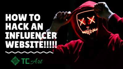 How to hack an influncer's website