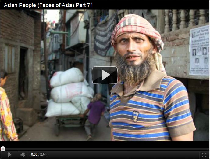 The faces of Asia is a 90 part series showcasing candid portraits of Asian people from the Far East, SE Asia and the Subcontinent.