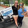 Sky Meadow Country Club's finest, Carrie Lavelle of Bedford, N.H., and Kasey Kilinski of Braintree
