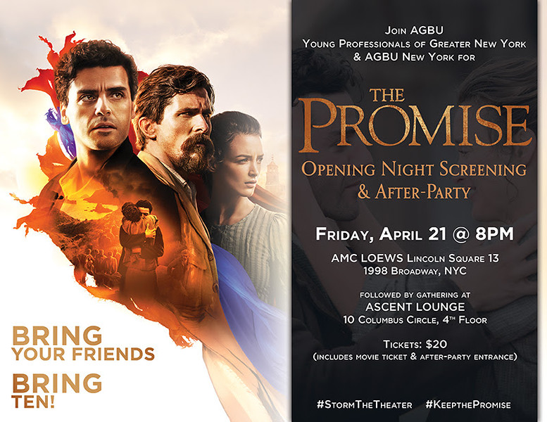 'The Promise' Opening Night Screening & After-Party