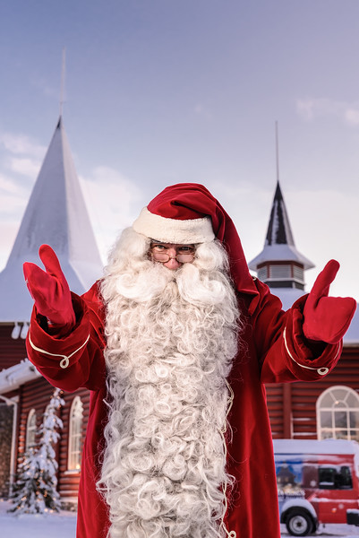 Santa Claus, Arctic Circle