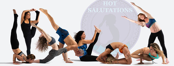 For Hot Salutations Yoga