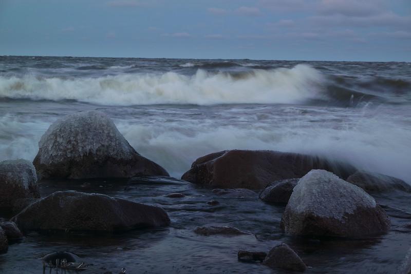 Ohtakari winter storm