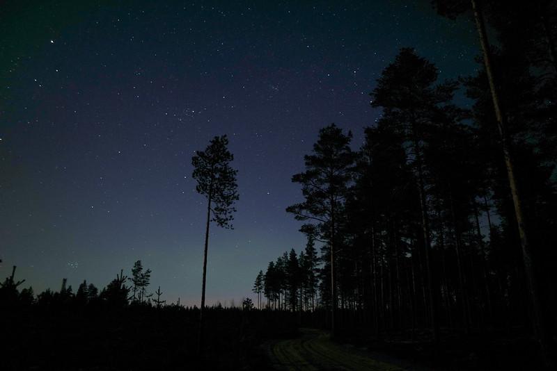 Starry night, Ullava, Finland