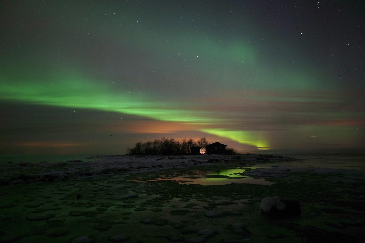 Lohtaja Northern Lights - Norrsken Lochteå - Lohtaja revontulet