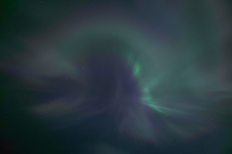 Northern lights corona, Kälviä-Kelviå, Finland