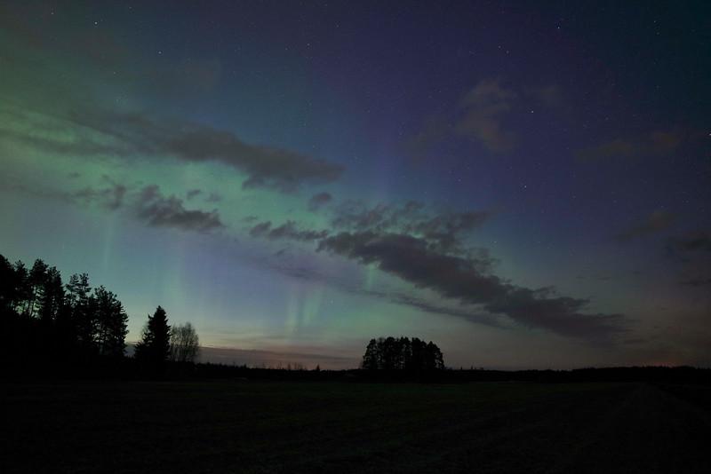Kälviä Northern Lights - Kelviå norrsken - Kälviä revontulet