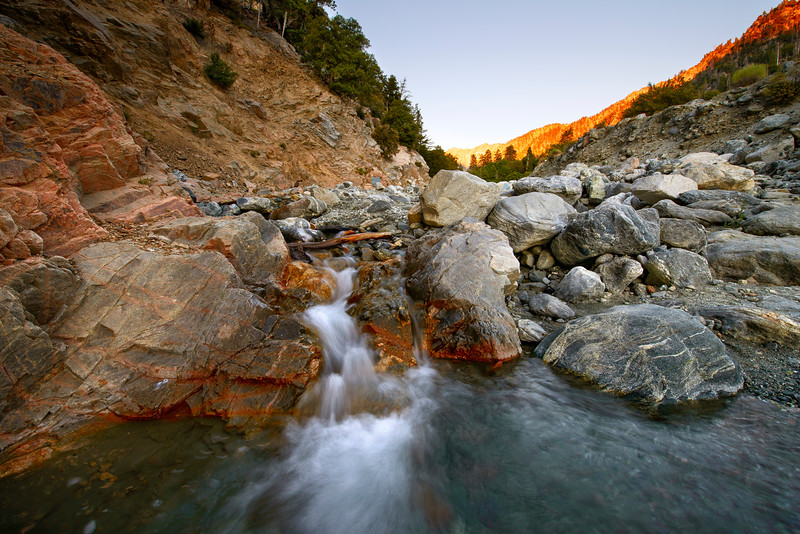 Small Waterfall along Vivan Creek