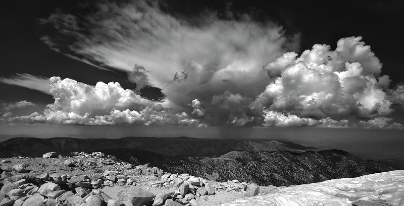 Thunderclouds from the Summit of San Gorgonio