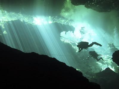 Yucatan Cenotes (Cave Diving), Mexico