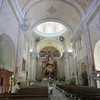 The Majestic Interior Of The Iglesia