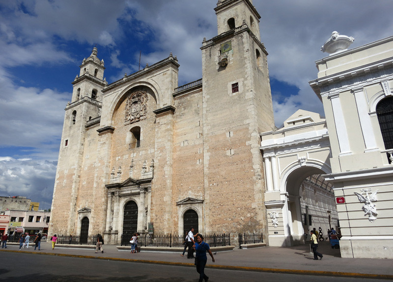 Catedral de San Ildefonso -1561-The 1st Catedral Constructed In The Americas