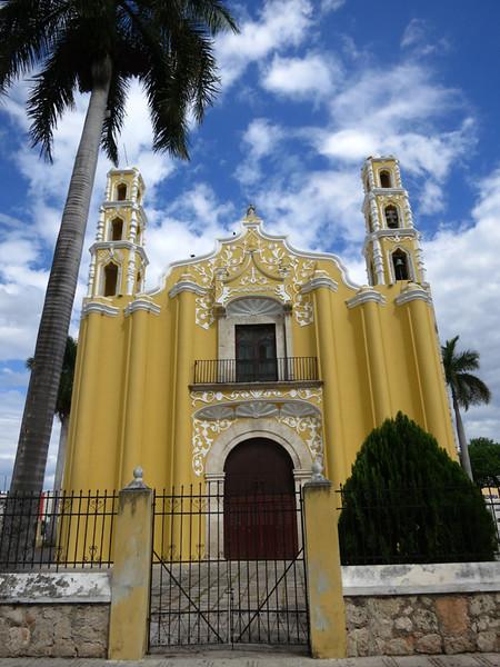Many Beautiful Churches Were Built Here In Merida