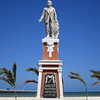 A Monument To Juan Miguel Castro, The Founder Of Progreso
