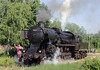 33-248, near Bukinje loco shed, Tuzla, Bosnia-Hercegovina, Tues 10 June 2014 1 - 0915.  The first run past of the day.
