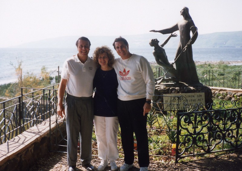 Tom, Lloyd and Betty Dubronvik, Italy ,Holy Land and Egypt March 1-20th 1990
