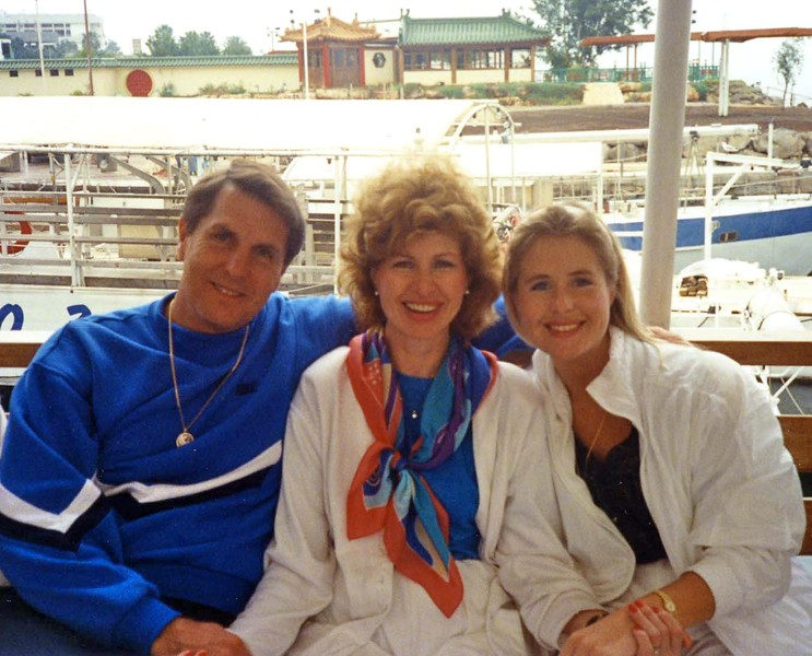 Lisa, Tom and Betty on the Nile