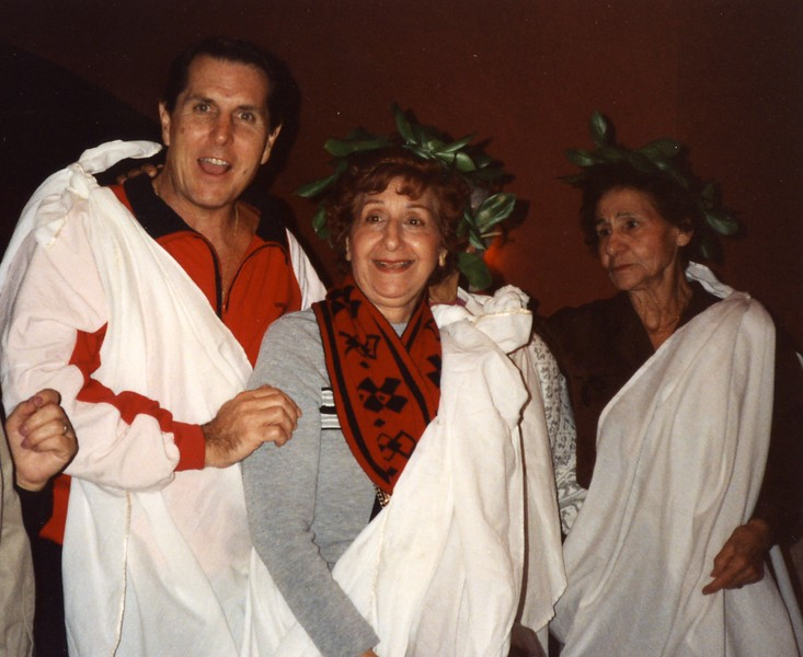Roman Toga Party Dubronvik, Italy ,Holy Land and Egypt March 1-20th 1990
