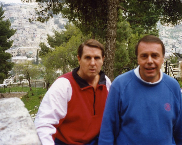 Tom and Lloyd Dubronvik, Italy ,Holy Land and Egypt March 1-20th 1990