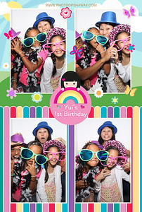 Yui's 1st Birthday (Luxe Photo Booth)