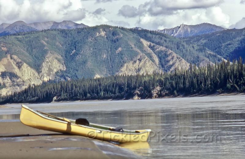 Sand Bar on the Yukon River