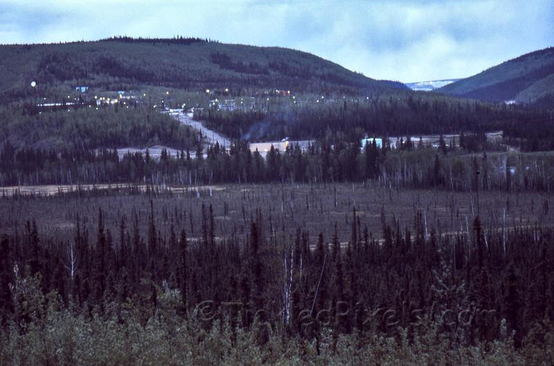 Clinton Creek at Dusk