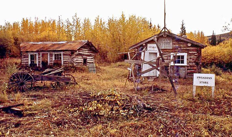 Swanson's Store, Fortymile, Yukon