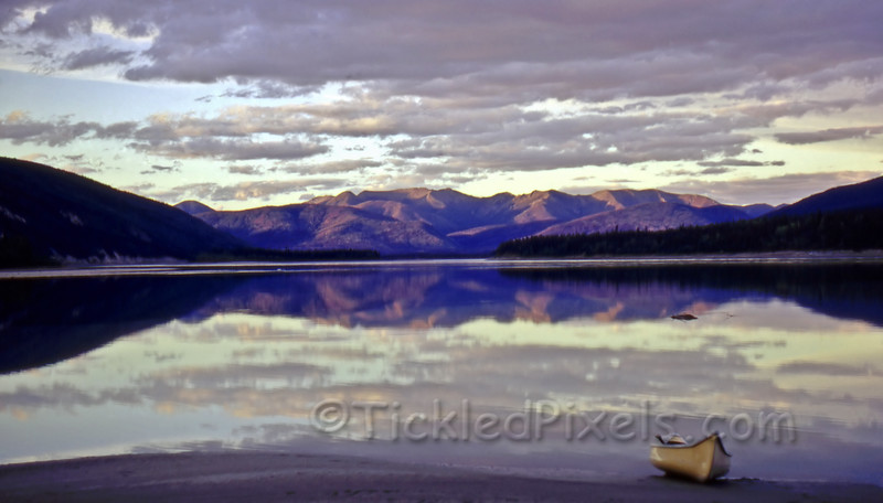 Fortymile, Yukon - Confluence of the Yukon and Fortymile Rivers