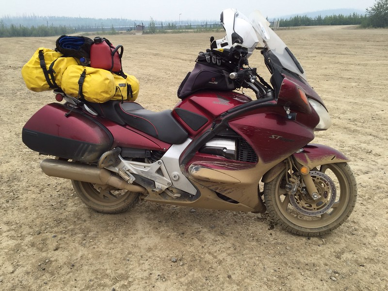 Getting real dirty, Back at Yukon River