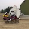 Fuel at Yukon River camp.