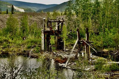 Remains of A Mining Dredge