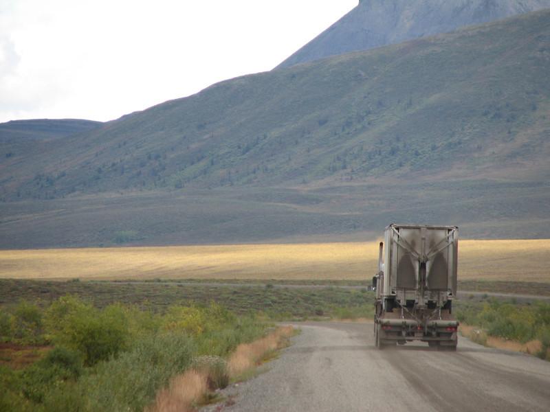 Aquest camió segurament si que va arribar a Unuvik...