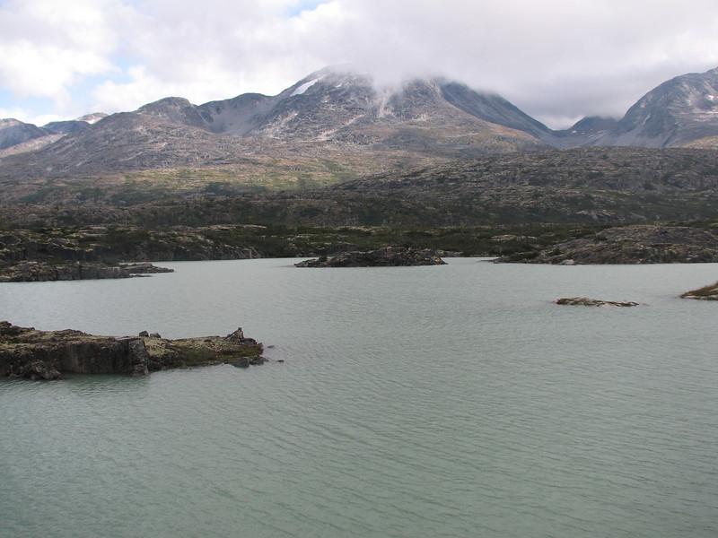 Llac / lago Kluane, Yukon