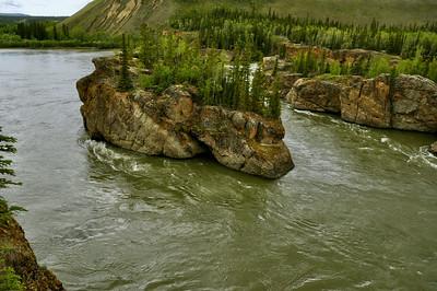 Five Finger Rapids, Yukon River