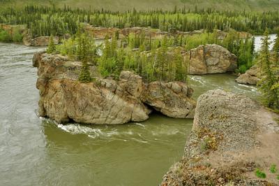 Five Finger Rapids, Yukon RiverFive Finger Rapids, Yukon River