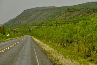 Klondike Highway near Braeburn Lodge