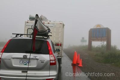Crossing the Border into the Yukon