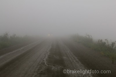 Thick Cloud on the Top of the World Hwy
