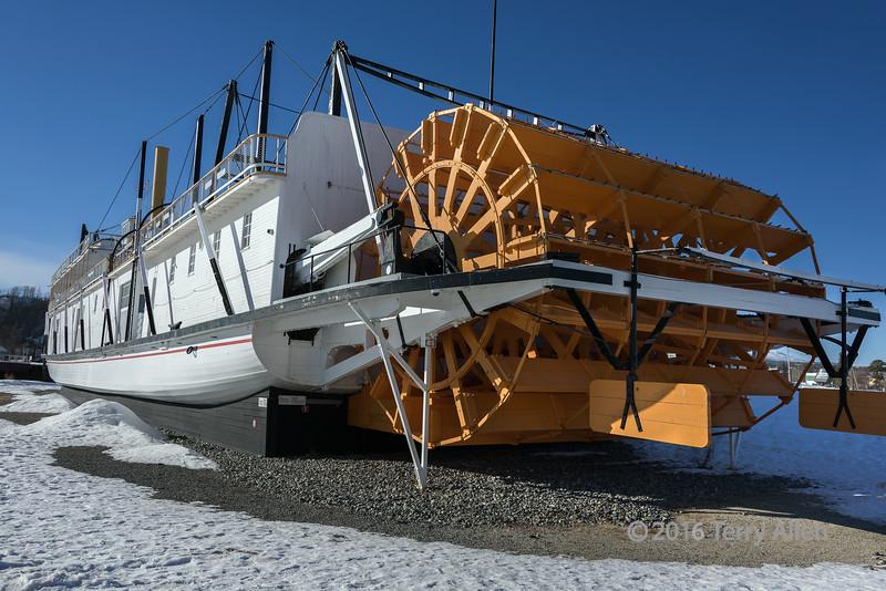 SS-Klondike-II-sternwheeler-National-Historic-Site,-Whitehorse,-Yukon-Territory