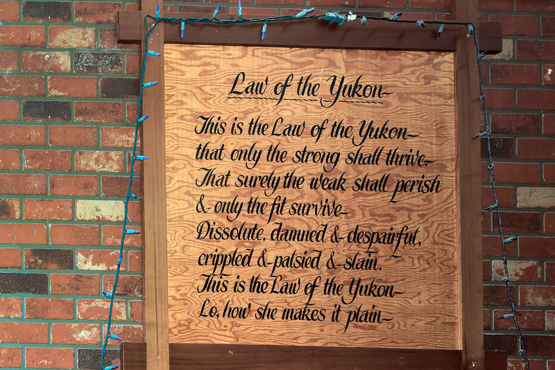The Law of the Yukon
