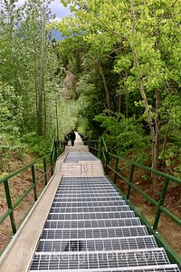 Stairway to the Airport Trail