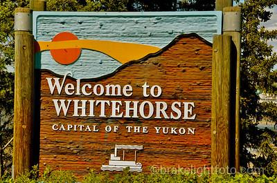 Whitehorse sign
