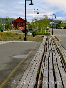 Whitehorse Waterfront Trolley Rails