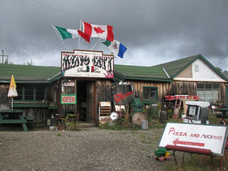 Mike's restaurant, Keno, Yukon