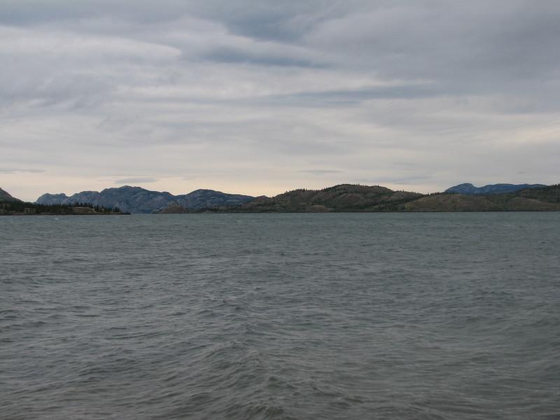 Llac / lago Laberge, Yukon