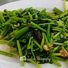 Stir fried Spinach but nothing special -- Ah Orh Seafood@115 Jalan Bukit Merah