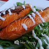 Norwegian salmon, complimentary for bill above $80  -- Grill-Out@Turf City